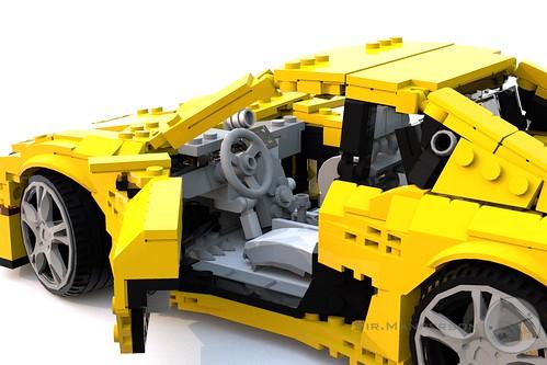 Tonagari Pequenaluz RLP drivers side 1 - 14-wide - Lego