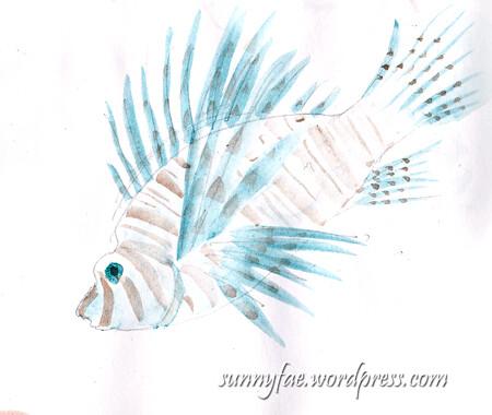 lionfish shetch 3