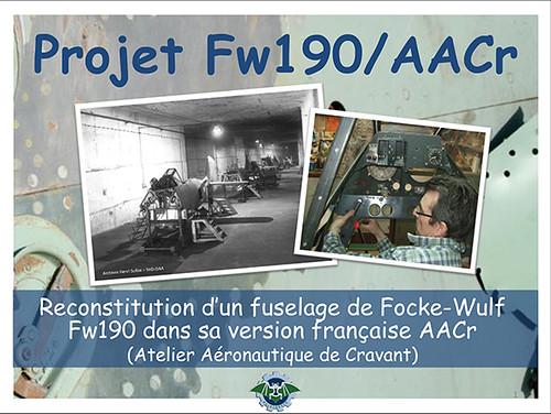 Le projet « Chantier Fw190/AACr »