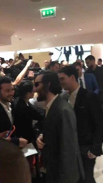 IG Story: Robert Pattinson & Josh_Benny Safdie Arrival PressConference #GoodTime #Cannes2017