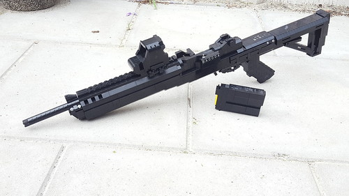 RUGER MINI 14 its done Attachments: TAPCO stock EOTECH XPS ...
