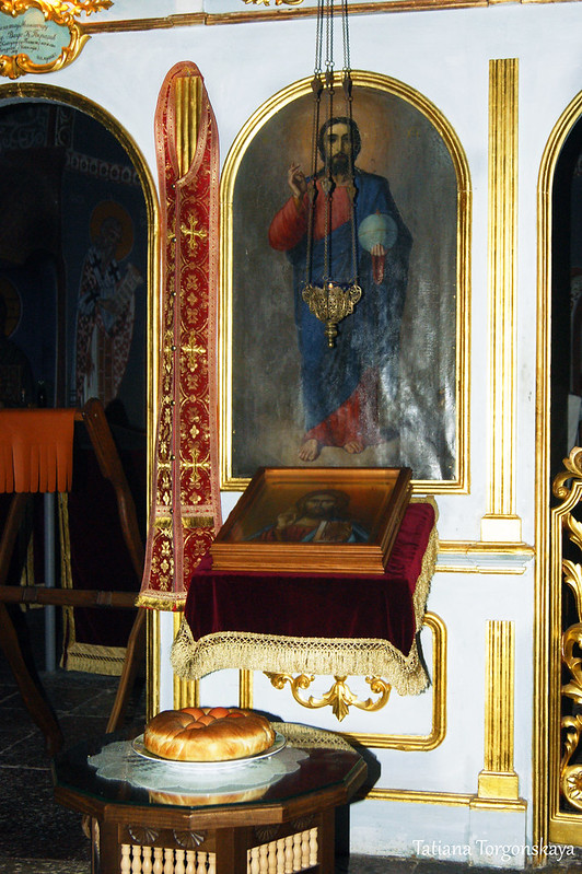 Фрагмент иконостаса церкви Св. Троицы