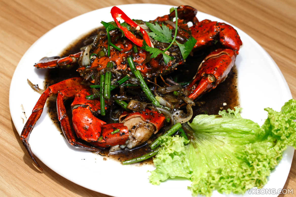 Baan Rao Stir Fried Black Pepper Crab