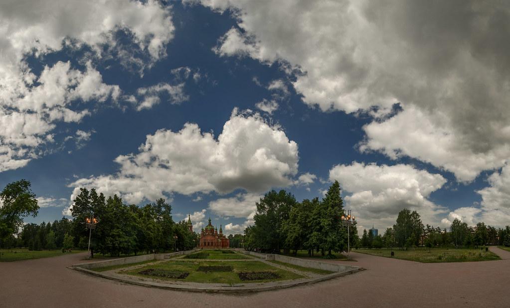 Челябинск. Храм Александра Невского.