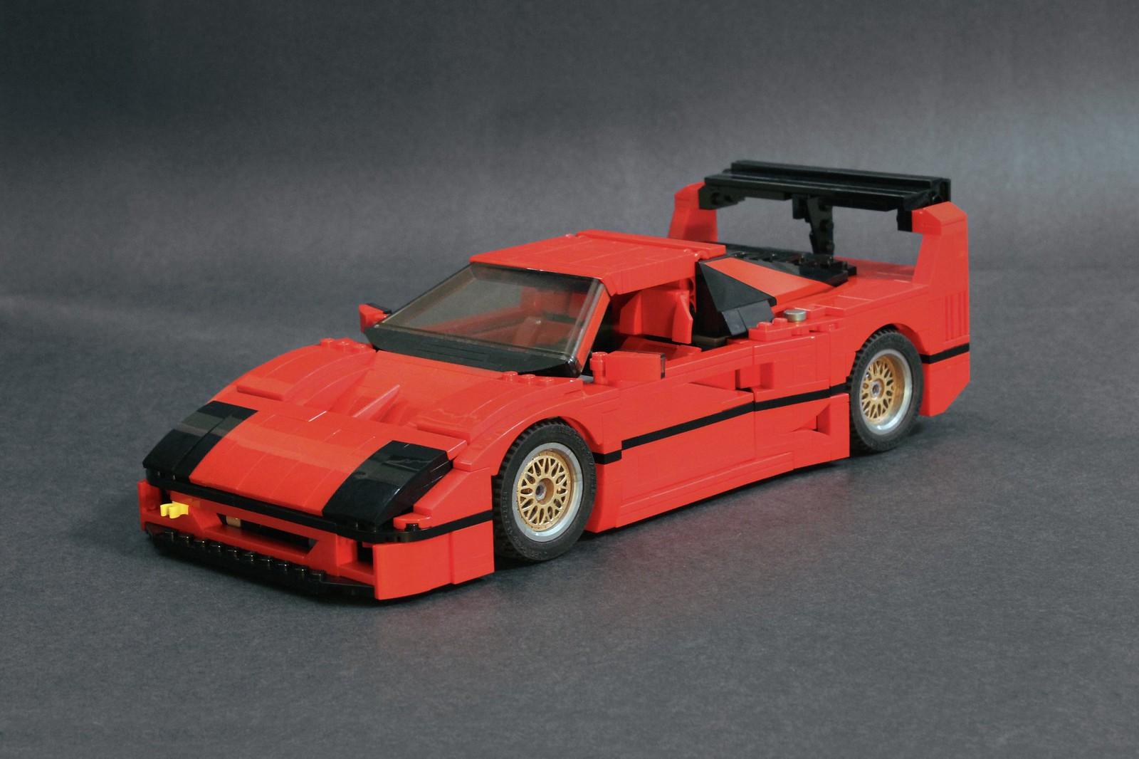 Prototyp Works Ferrari F40 Lm Lego 10248 Supermod