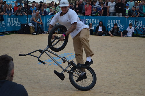 BMX competition at the Ruhr Games