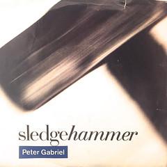 PETER GABRIEL:SLEDGEHAMMER(JACKET A)