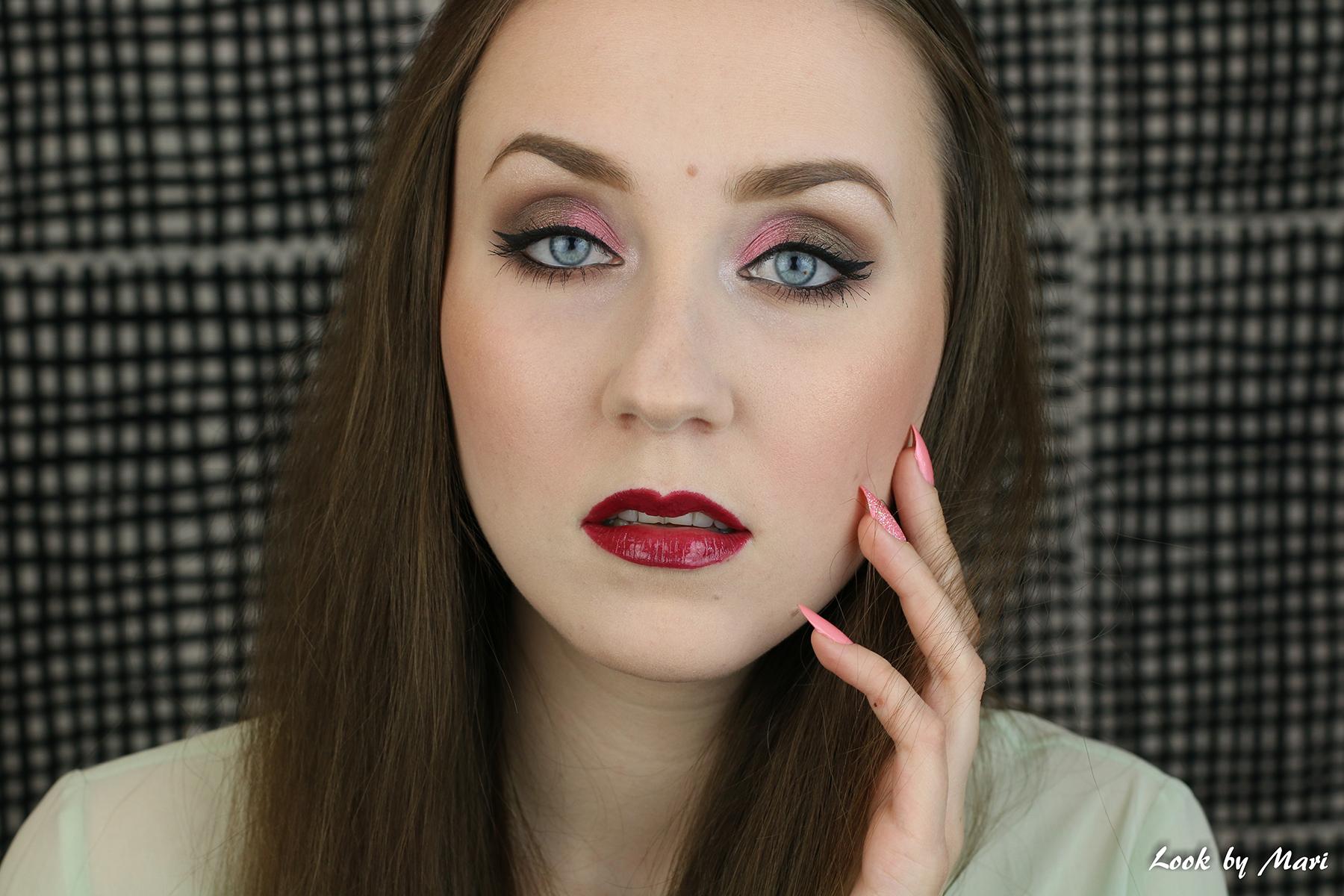 1 kevät meikki ideat ideoita pastelli silmämeikki tutoriaali inspiraatio blogi