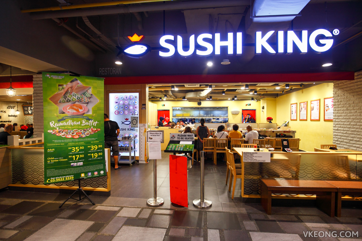 Sushi King Sunway Putra Mall KL