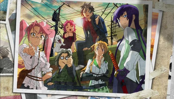 hotd animes empolgantes 02