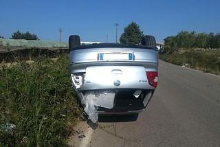 Noicattaro. Incidente strada per Triggiano front