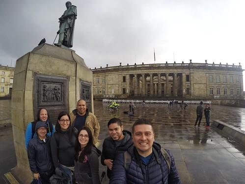 Plaza Bolívar en Bogotá