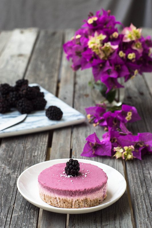 ´Tartitas frías de fresas y moras