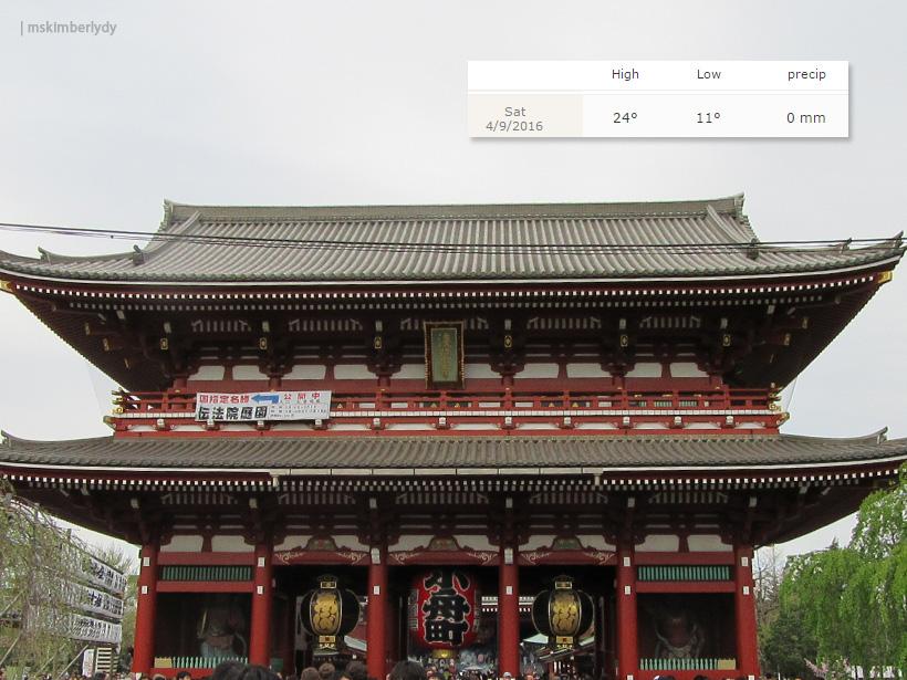 Day 6 Asakusa