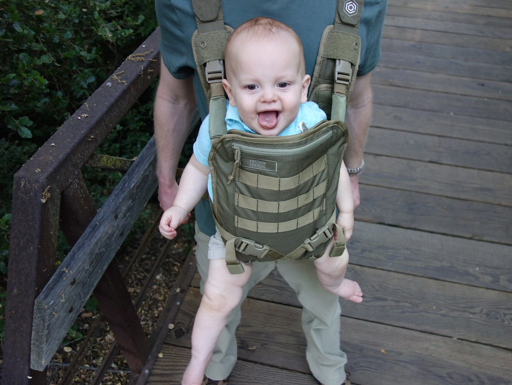 A Tactical Baby Carrier Especially For Dads Mission Critical