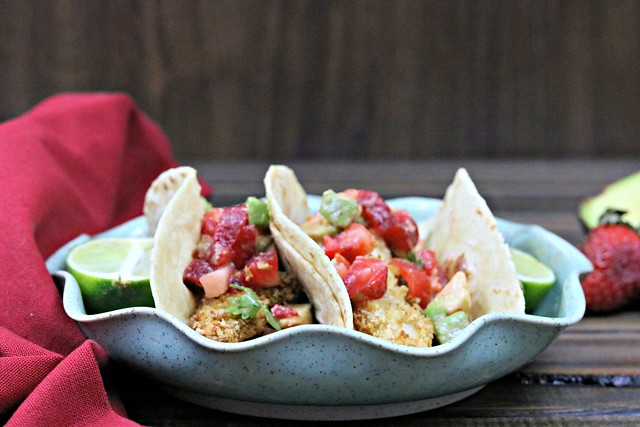 Crispy Margarita Chicken Tacos