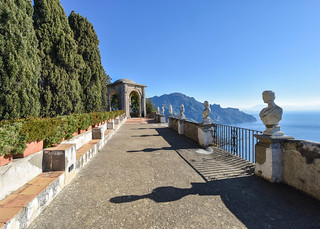 Terrace of Infinity, Villa Cimbrone, Ravello, Italy | by Gwendolyn Stansbury