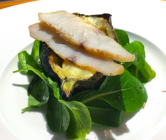 Coquo - Roasted eggplant and smoked dry fish