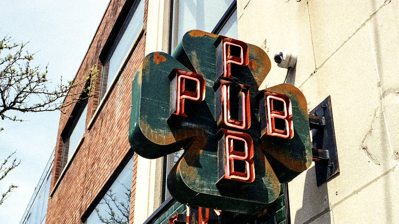 Pub Steel Sign
