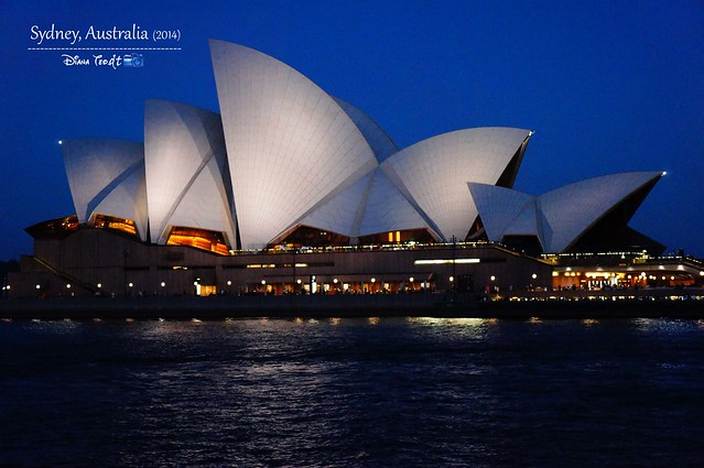 Day 1 - Sydney Opera House Night Time