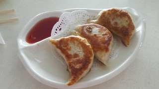 Pan-Fried Dumplings @ Easy House