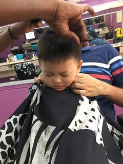 Haircut at the Barber Shop