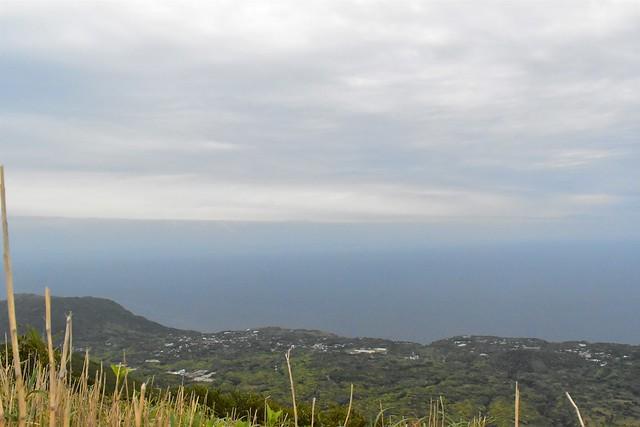 三原山からの海の展望