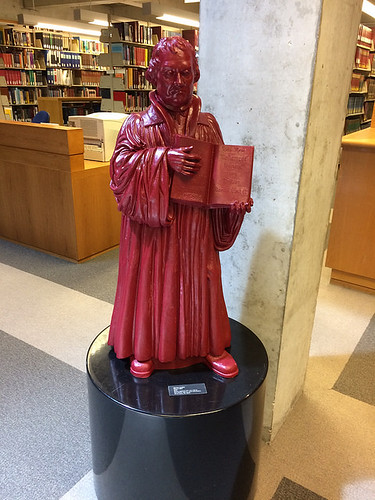 IMG_2068 - Martin Luther, Ottmar Hörl, 2010, Graduate Theological Union Library, UC Berkeley