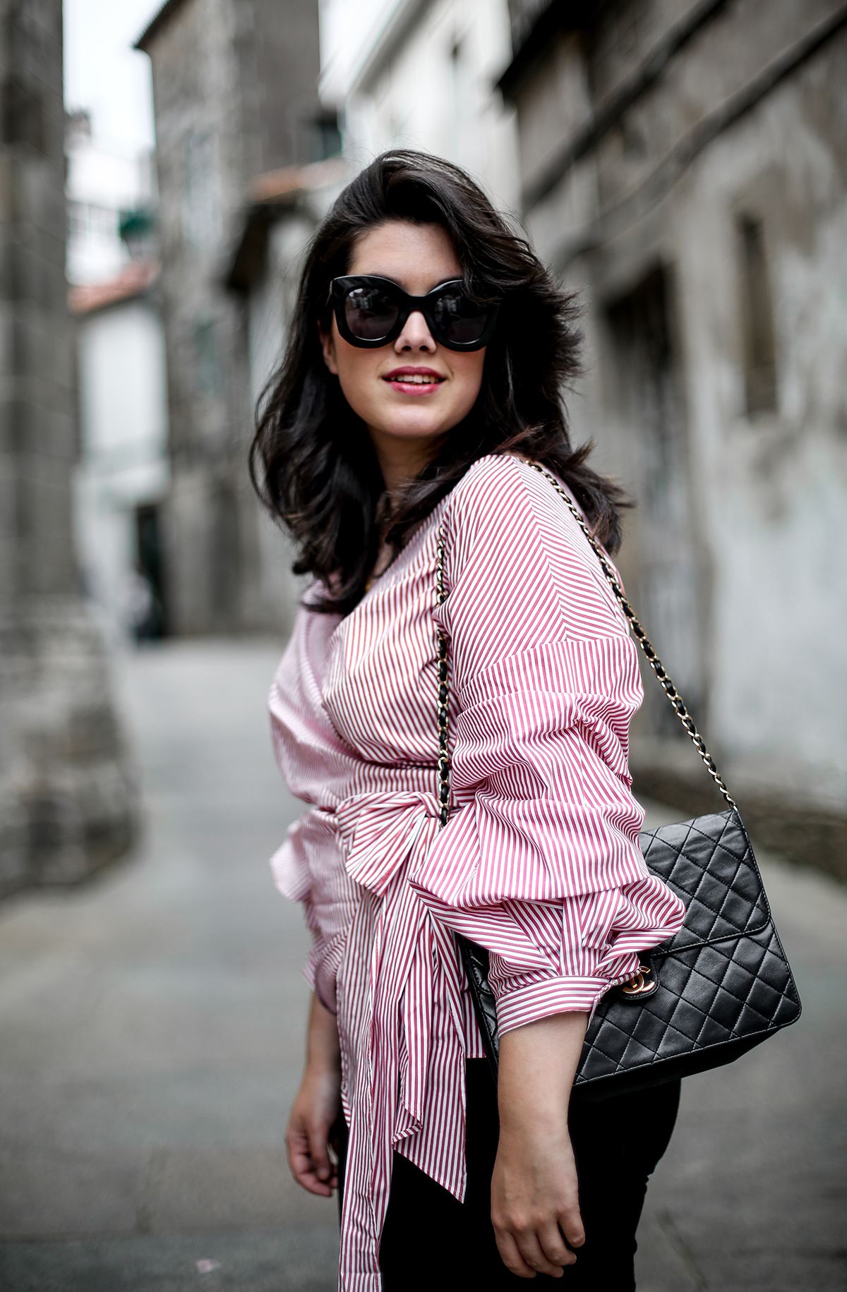 blusa-cruzada-zara-chanel-vintage-vestiaire-collective-myblueberrynightsblog7
