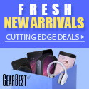Fresh New Arrivals Best Deals @ Gearbest