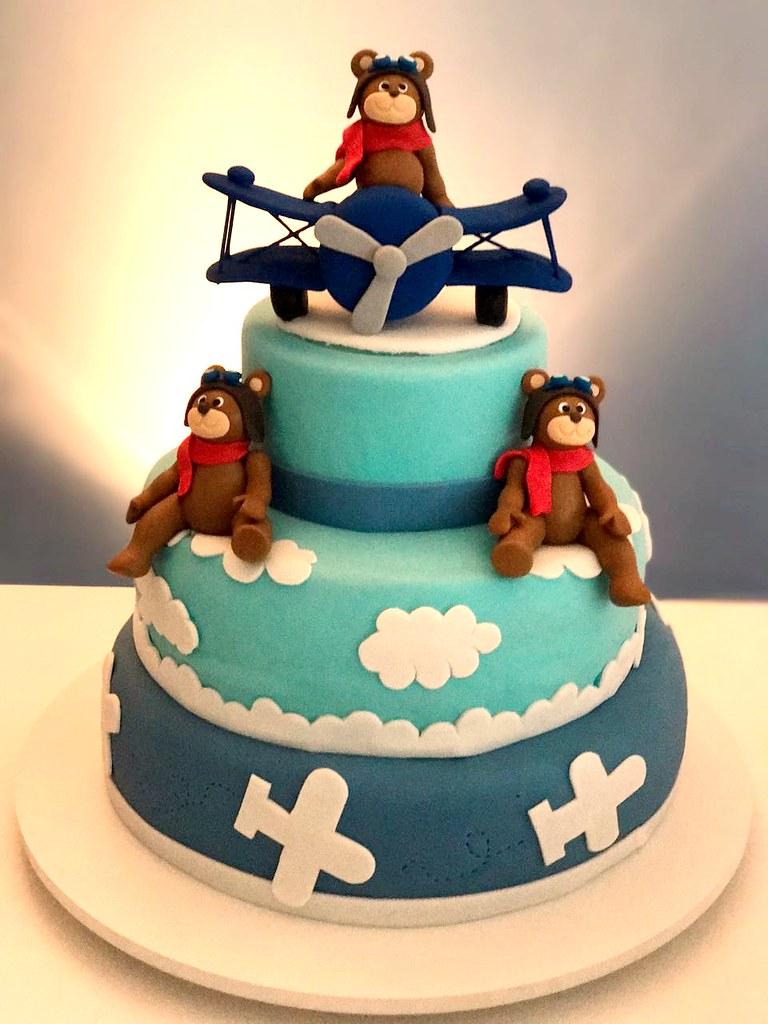 Bolo ch de beb ursinho aviador marclia tortas e bolos d flickr bolo ch de beb ursinho aviador marclia tortas e bolos decorados by marclia tortas thecheapjerseys Images
