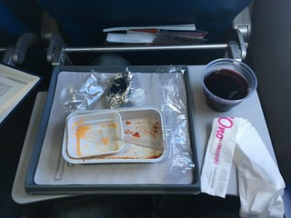 Free Meal with Wine on Hawaiian Airlines - Island Time | by zverina.com