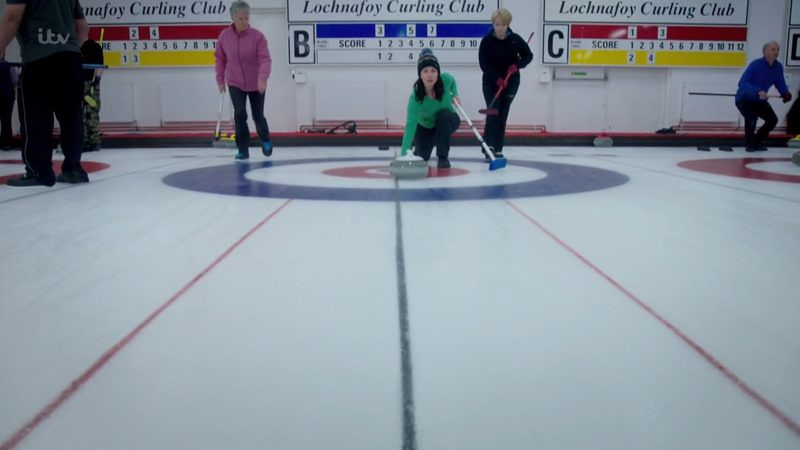 The Curling club scene