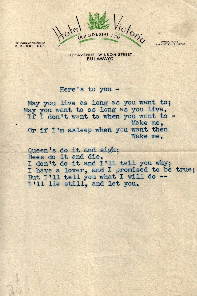 Found erotic letter