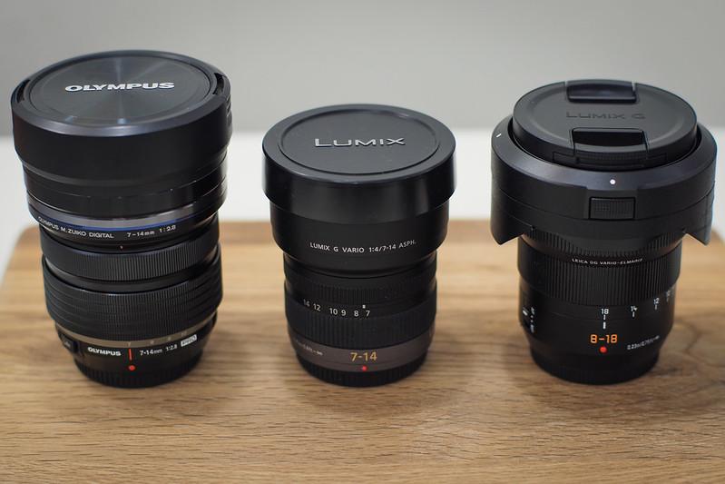 LeicaDG7-14mm/f2.8-4vsLumixG7-14mm/f4 vsM.ZD7-14mm/f2.8PRO|ABC Test