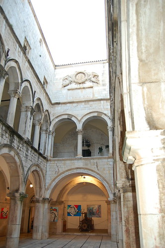 Interior of the Sponza Palace