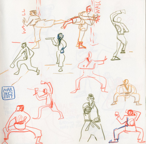 Sketchbook #104: My Life Drawing Class
