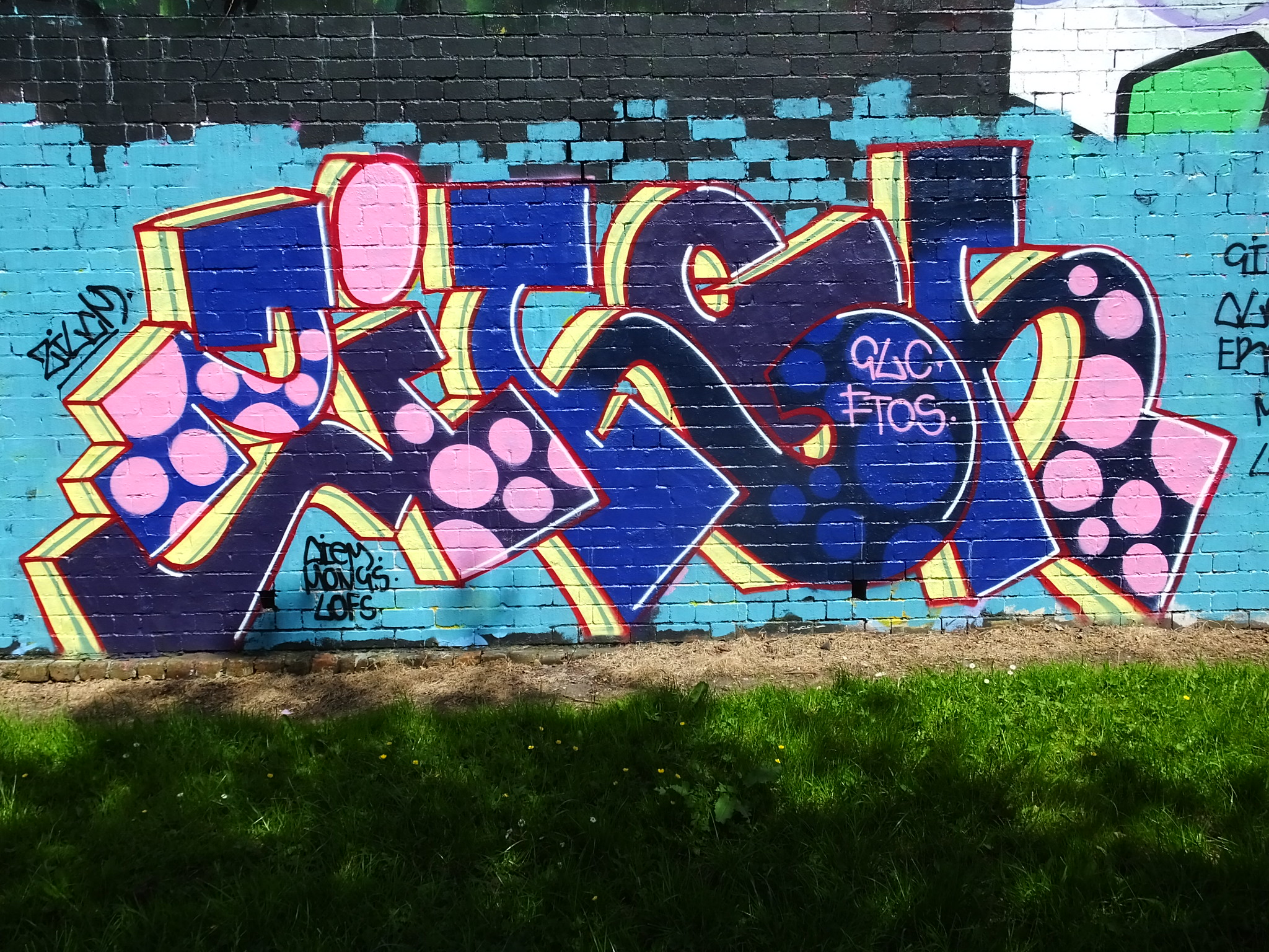 Sevenoaks Park street art