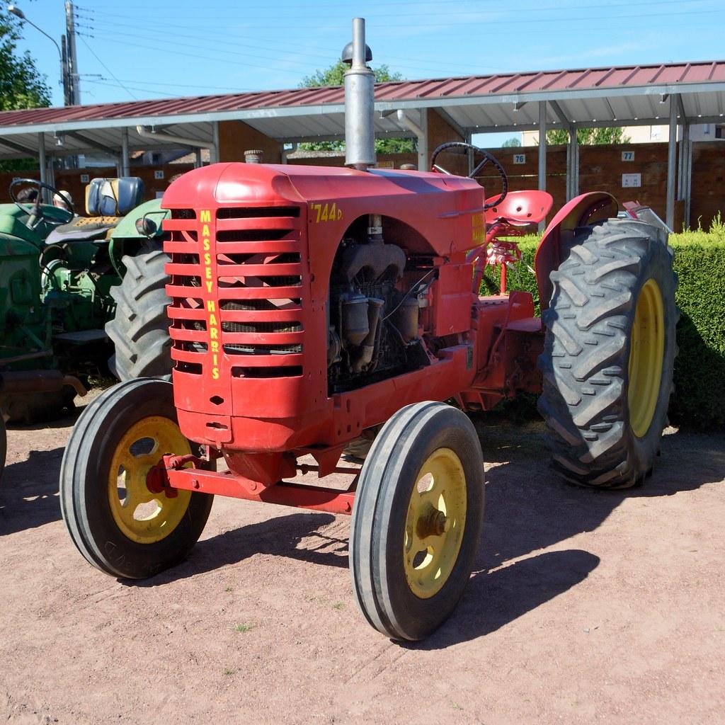 Massey Harris Tracteur 744 D Tats Unis 1948