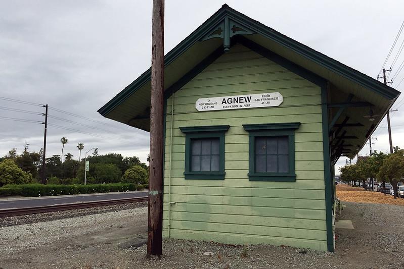 Agnew station
