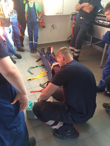 JF zu Gast beim Rettungsdienst