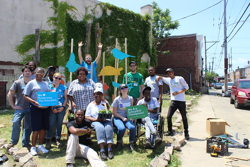 Point Breeze Cleanup & Block Party - June 2017