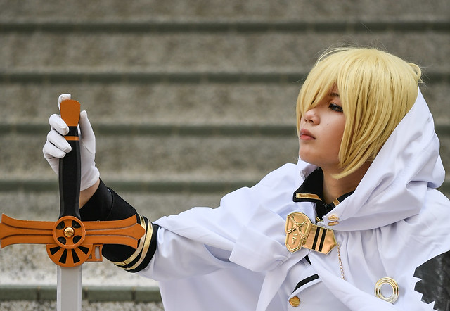 Nikon 300mm f4 ED Cosplay 試影