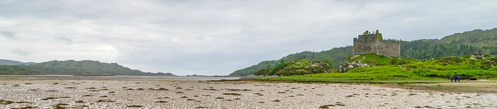 Castle Tioram am Loch Moidart