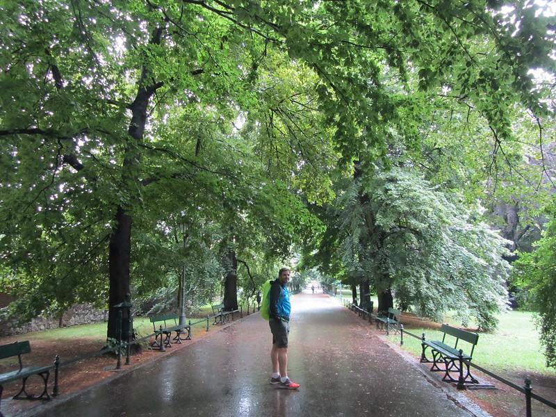 Lloviendo en Cracovia