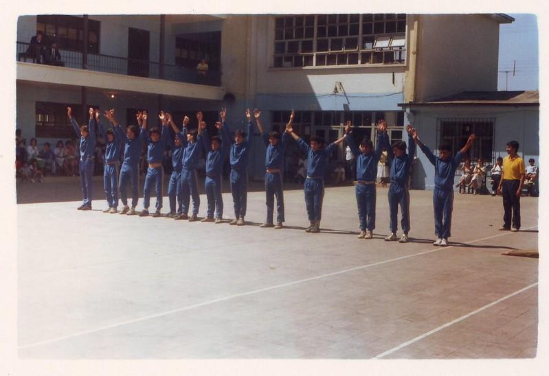 Patrimonio fotográfico Liceo Andrés Bello Ex Liceo de Hombres N°6 San Miguel