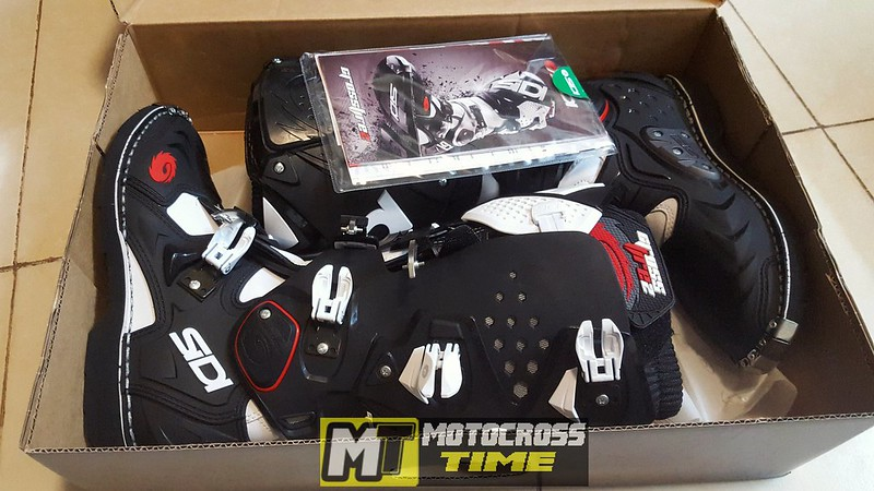 SIDI Crossfire 2 Unboxing and Review - Motocrosstime