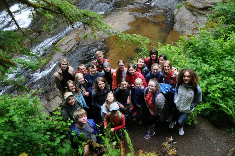 Alsea and Green Peak Falls Hiking Crew @ Mt. Hope Chronicles