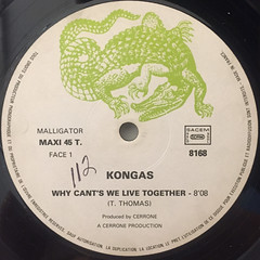 KONGAS:WHY CAN'T WE LIVE TOGETHER(LABEL SIDE-A)