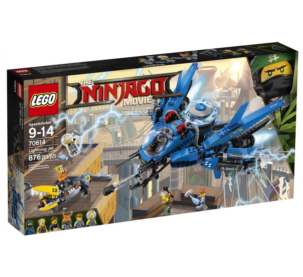 The LEGO Ninjago Movie 70614 - Lightning Jet